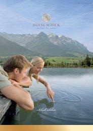 Persönliche Ernährungs- beratung Persönliche ... - Hotel Schick