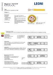 S 1 P 1 A 1 C 1 E 1 - LEONI Kerpen GmbH, Stolberg