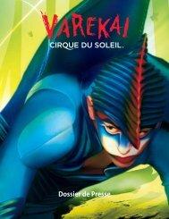 Pochette de Presse - Cirque du Soleil