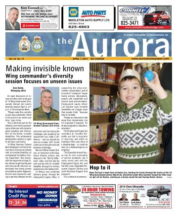 Apr 1 2013 - The Aurora Newspaper