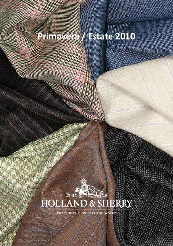 Primavera / Estate 2010 - Holland & Sherry