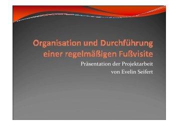 Organisation und Durchführung einer regelmäsigen ... - WB-nephro.de