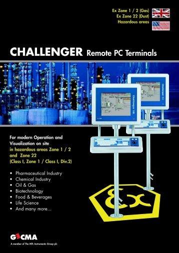 Brochure on Gecma Challenger - ESIS