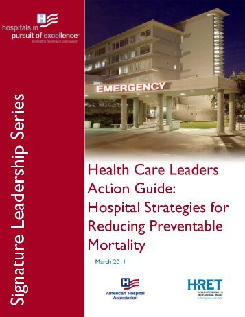 Health Care Leaders Action Guide Hospital ... - Safetyleaders.org