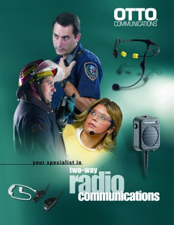 Audio Catalog - radio communications equipment