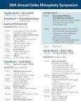 Westin Galleria - Dallas Rhinoplasty Symposium - Page 4