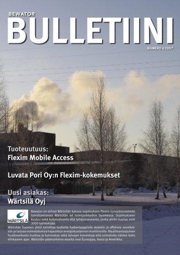 Tuoteuutuus: Flexim Mobile Access Luvata Pori Oy:n Flexim ...