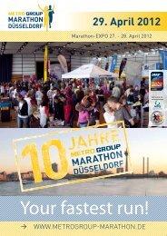 29. April 2012 - METRO GROUP Marathon Düsseldorf
