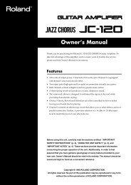 Owner's Manual - SameDayMusic.com