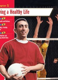 Chapter 1 Living a Healthy Life - McGraw-Hill Ryerson