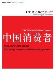 Chinese Consumer Report 2012 - Luxury - Roland Berger