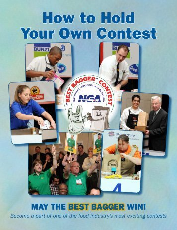 How to Hold Your Own Contest - Wisconsin Grocers Association
