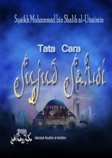 Tata Cara Sujud Sahwi – Pdf File - Guru Indonesia