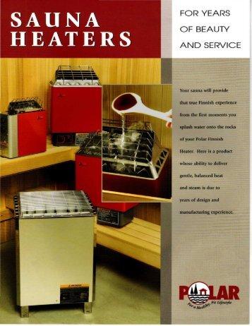 SAUNA HEATERS - Superior Sauna & Steam