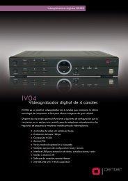 IV04 - Grabadores digitales CENTER H.264 - CCTV Center
