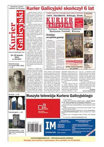 Kurier Galicyjski - Kresy24.pl