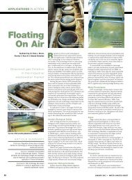 Floating on air - Water & Wastes Digest