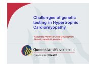 Challenges of genetic testing in Hypertrophic Cardiomyopathy