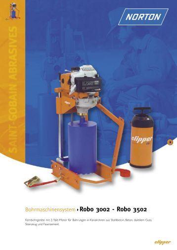 Bohrmaschinensystem Robo 3002 - Robo 3502 - Norton ...