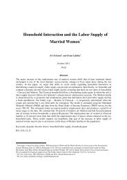 Household Interaction and the Labor Supply of Married Women