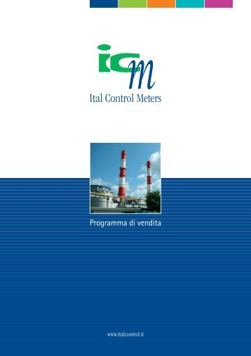 Misure di portata - Ital Control Meters