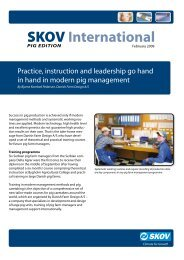 Theoretical and practical Training Course (PDF version) - Skov A/S