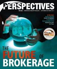 Brokerage Industry Insights | SeptemBer/ OctoBer 2011 - Nailba