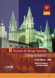 Programa II Reunion RV - Sociedad Española de Medicina Interna