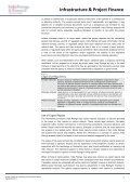 Rating Criteria for Infrastructure and Project Finance - India Ratings - Page 6