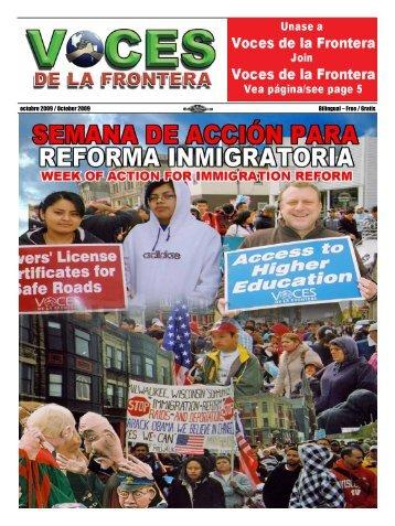 octubre 2009 / October 2009 Bilingual – Free / Gratis - Voces De La ...