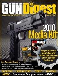 INSIDE… How we can help your business GROW!... - Gun Digest