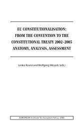 eu constitutionalisation - EUROPEUM Institute for European Policy
