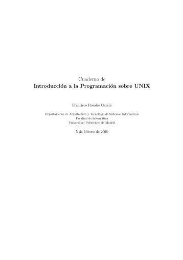 programa C - Universidad Politécnica de Madrid