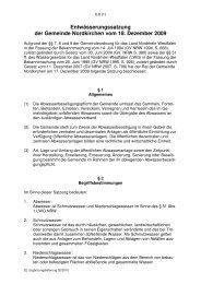 Entwässerungssatzung der Gemeinde Nordkirchen vom 18 ...