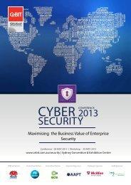 CyBER SECuRITy COnFEREnCE - CeBIT Australia