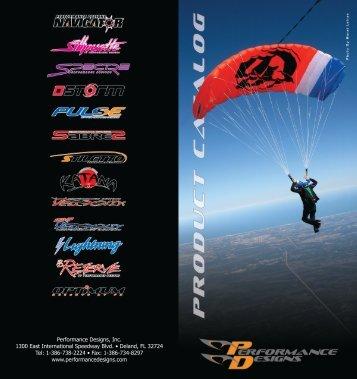 Product Catalog - Performance Designs, Inc.