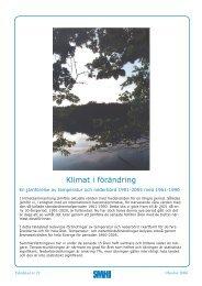 Klimat i förändring - SMHI