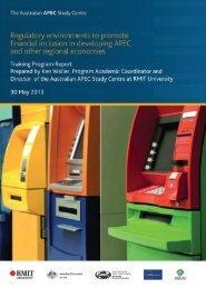 Financial Inclusion Report - Australian APEC Study Centre
