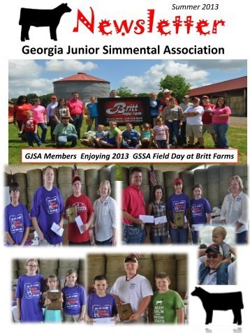 View PDF - click here! - Georgia Simmental & Simbrah Association