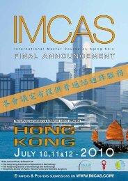 HONG KONG - IMCAS