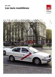Les taxis madrilènes