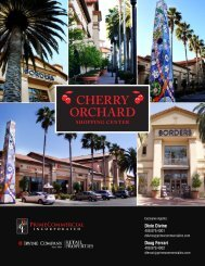 Cherry OrChard - Prime Commercial, Inc