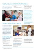Doctor of Veterinary Medicine (USA) - Faculty of Veterinary Science - Page 2