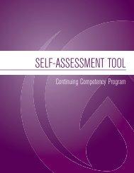 Self-Assessment Tool - College of Licensed Practical Nurses of ...