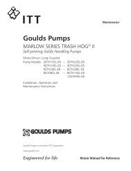 Goulds Pumps - Pump Express