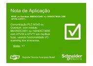 Nota de Aplicação - Schneider Electric