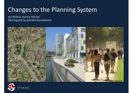 2. Zoe Willcox – Changes to the planning system