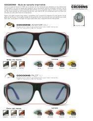 Cocoons Sizing - Spanish.ai - Cocoons Eyewear