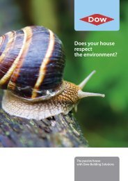 NL - Brochure GREEN WEEK A4.indd - Dow Building Solutions ...