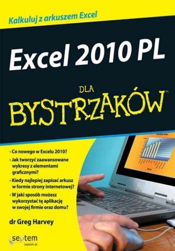Excel 2010 PL dla bystrzaków - Structum
